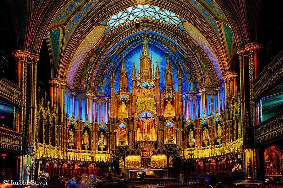 Image result for notre dame basilica montreal