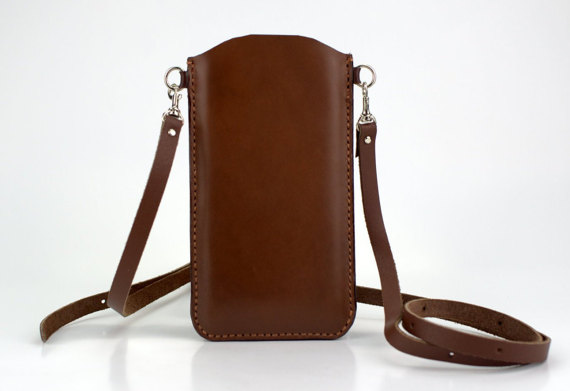 huge discount 931a1 595cc iPhone 6s Plus Bag Crossbody, Brown iPhone 6s Plus Shoulder Bag ...