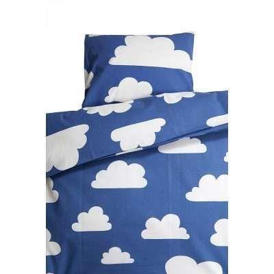Färg & Form Wolken Dekbedovertrek 1-persoons - Blauw