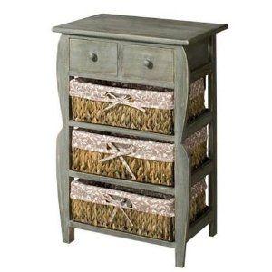 Mock Drawer Front 3 Basket Rack Vegetable Storage Chest From Centurion Pine