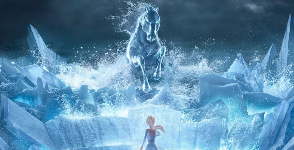 Frozen Ii S Nokk The Water Stallion Has Deep Roots In Scandinavian Folklore And Has Had Numerous Different Versions Be Mythical Creatures Animation Film Elsa