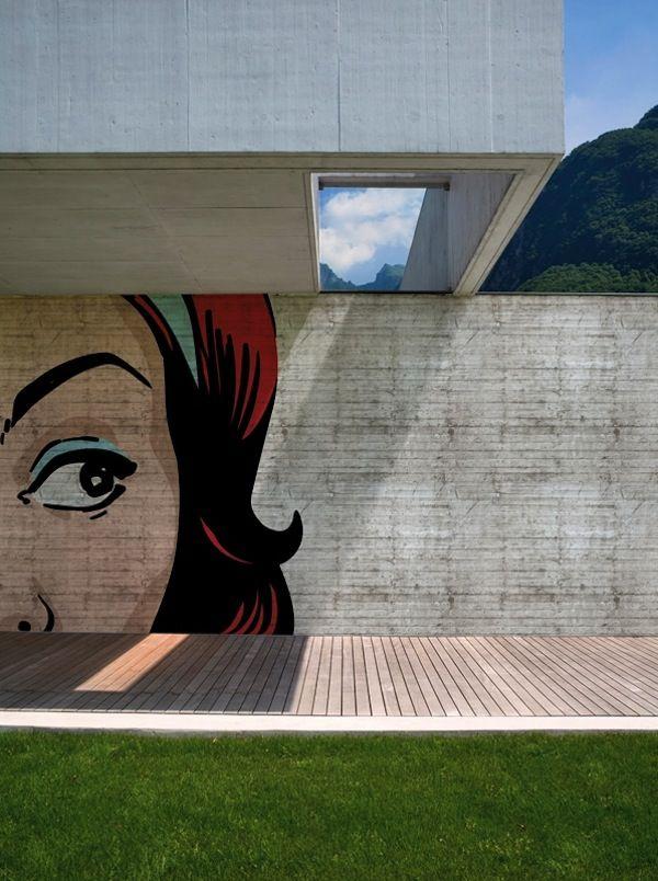 Pop Pop Pop   Pop Art   Outdoor Wallcovering   Design. Wall And Decor,