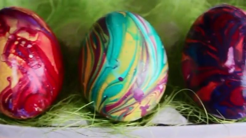 Пасхальные яйца своими руками. Как и чем красиво покрасить ...