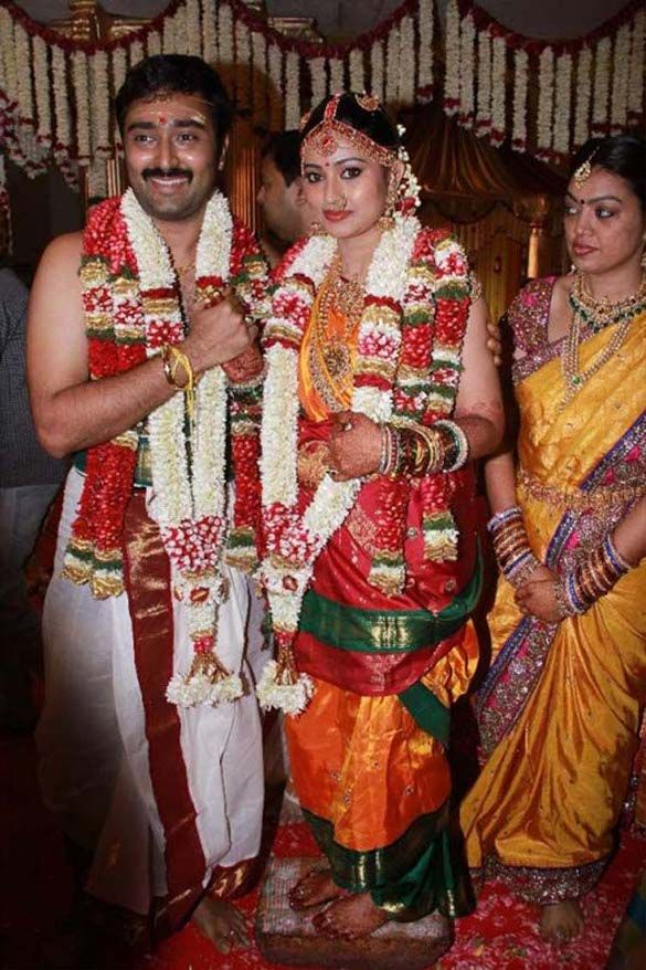 Actress Sneha Actor Prasanna Marriage Photos