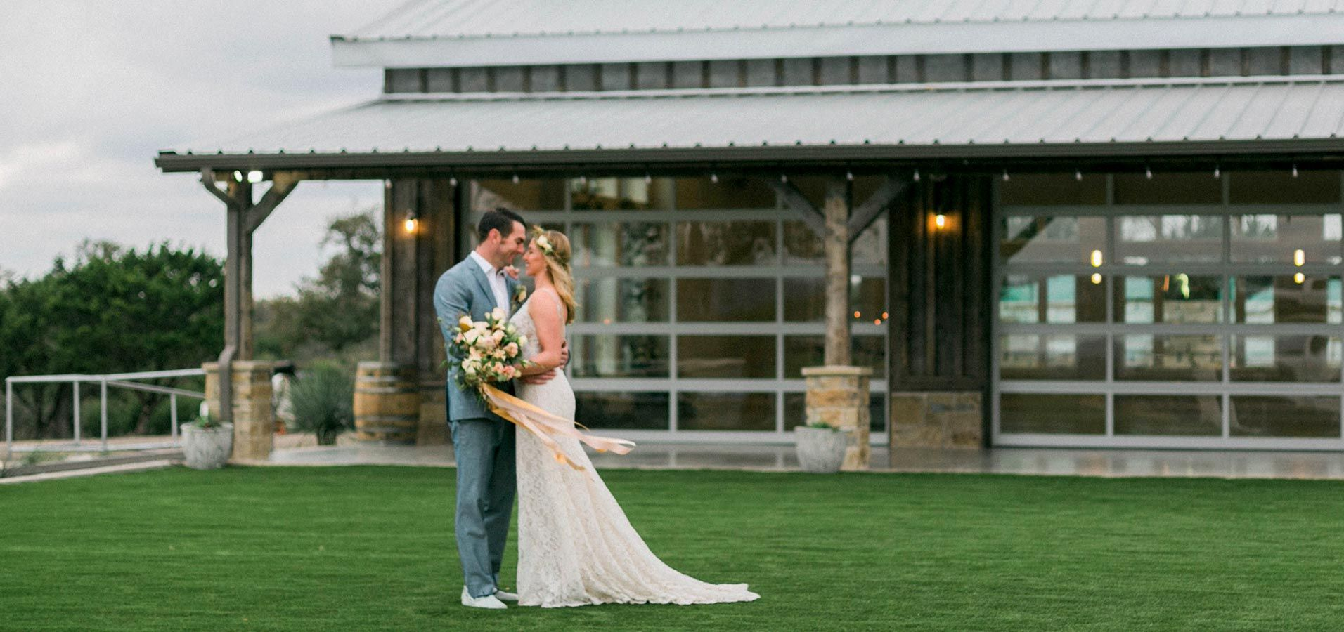 Brand new wedding venue in Fredericksburg, Texas.