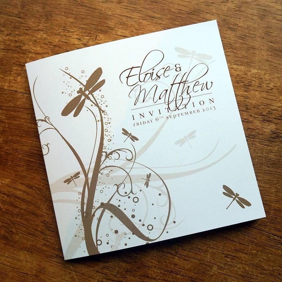 Meadow/Butterfly/Dragonfly Stationery Range | Weddings