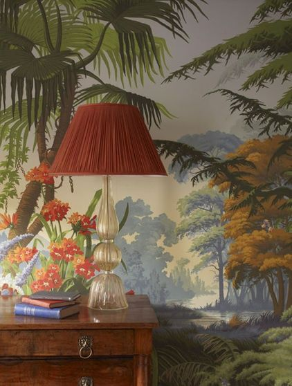 Great idea to use with magscapes magnetic wallpaper and custom magnets de gournay our collections wallpapers fabrics collection papiers peints