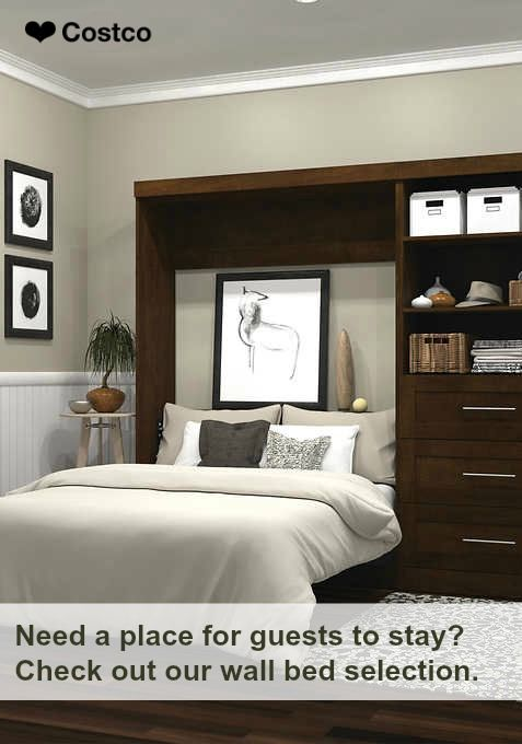 Wall Beds Are Perfect For Saving Space While Also Creating Storage