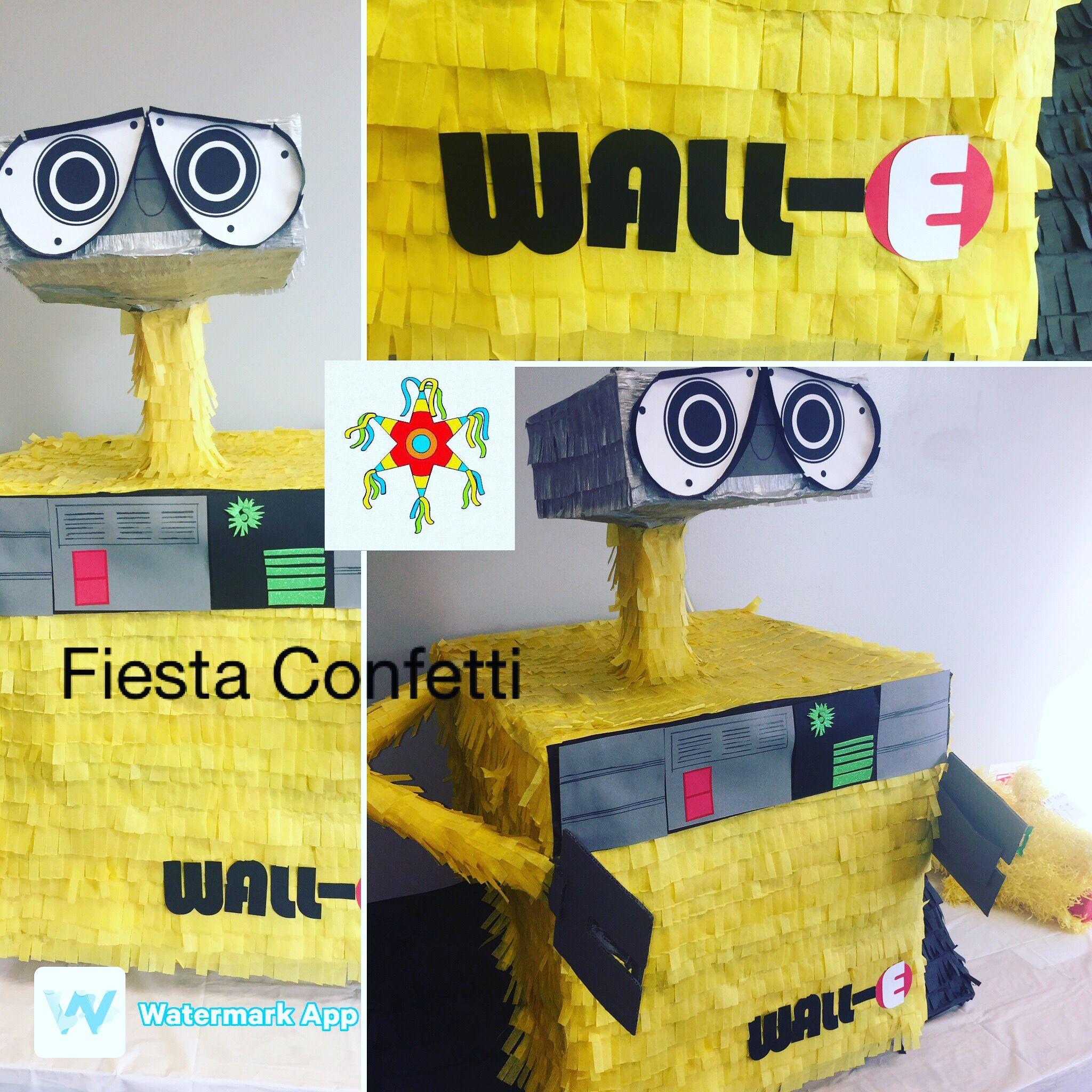 Wall-e piñata | Fiesta Confetti Party Store | Pinterest | Party stores