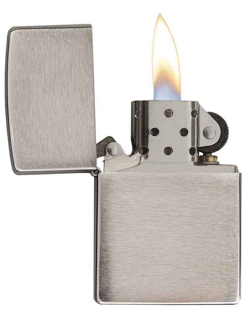 Classic Brushed Chrome Lighter Zippo Photo Posters