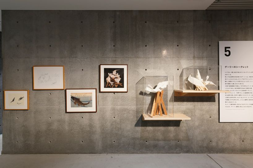 Frank Gehry I Have An Idea Exhibition Design Sight Toyko Designboom