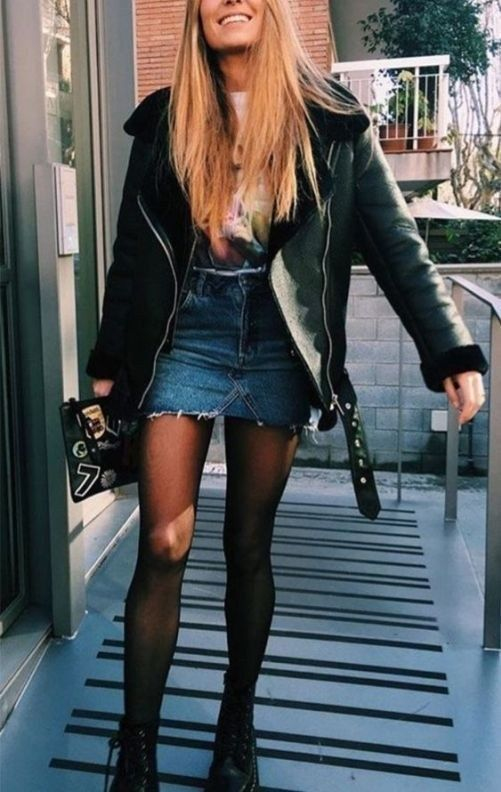 38 Perfect Leather Outfit Ideas