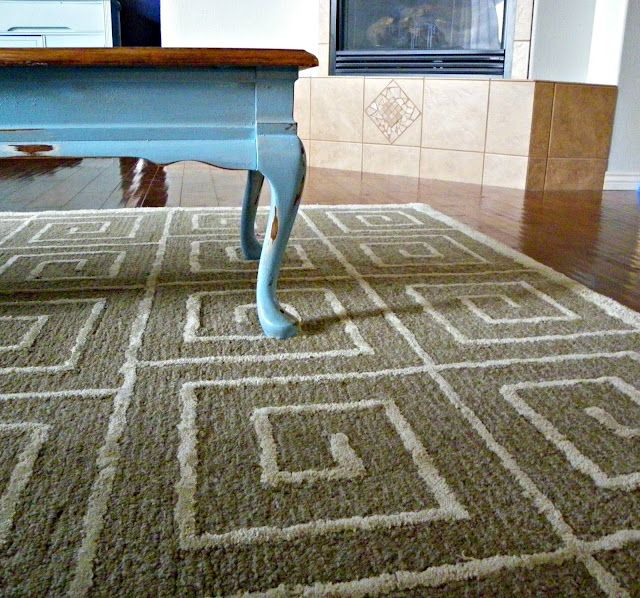 Saved by Suzy: Greek Key rug from Overstock