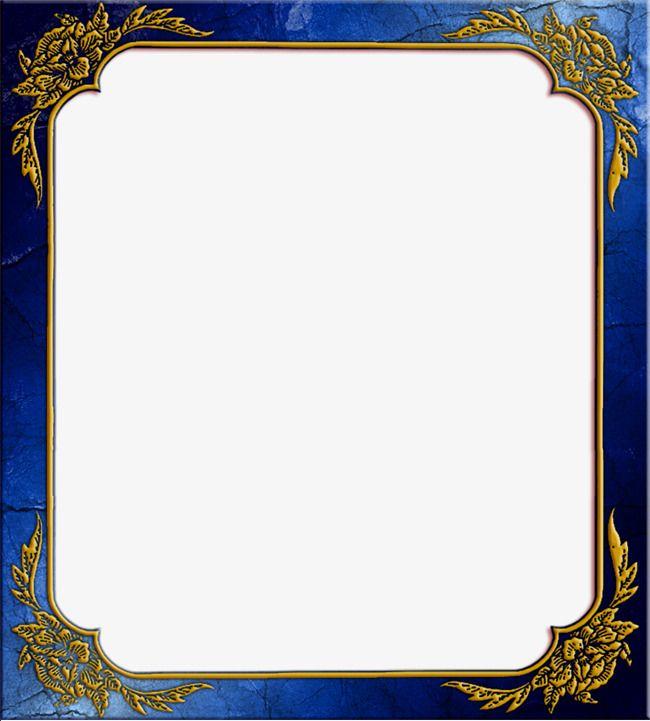 Blue Frame Frame Clipart Frame Album Border Png Transparent Clipart Image And Psd File For Free Download Frame Clipart Frame Border Design Boarders And Frames