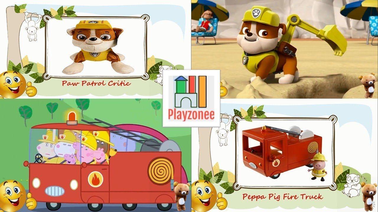 learn characters vehicles peppa pig paw patrol ben