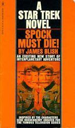 Spock Must Die cover