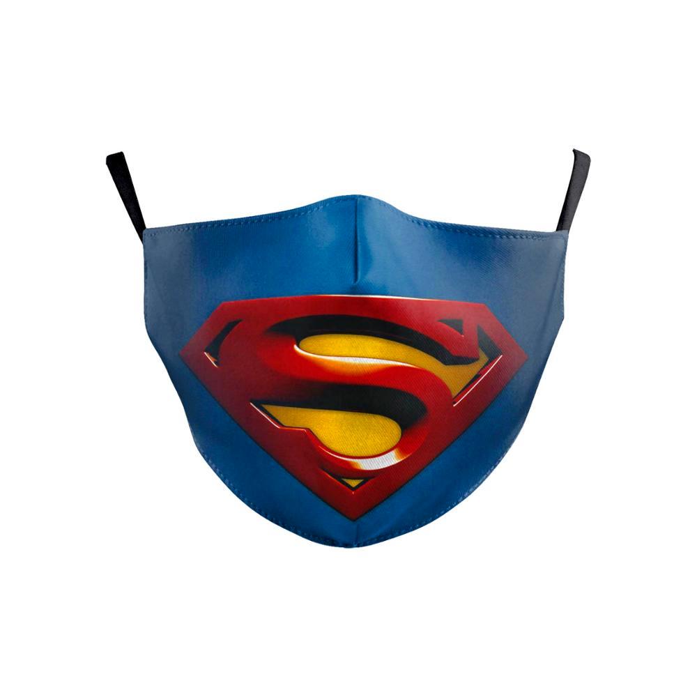 Spiderman Batman Superman Iron Man Flash Marvel 13 Design Kids Face Mouth Masks Mask For Kids Face Masks For Kids Superhero Masks