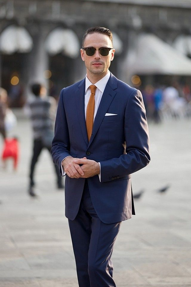 Blue Suits: How To Wear & Buy + 50 Inspirations & Ideas