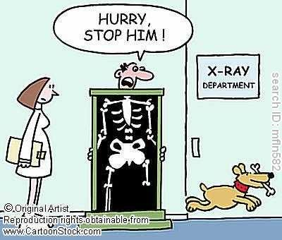 Radiology Technician be there soon
