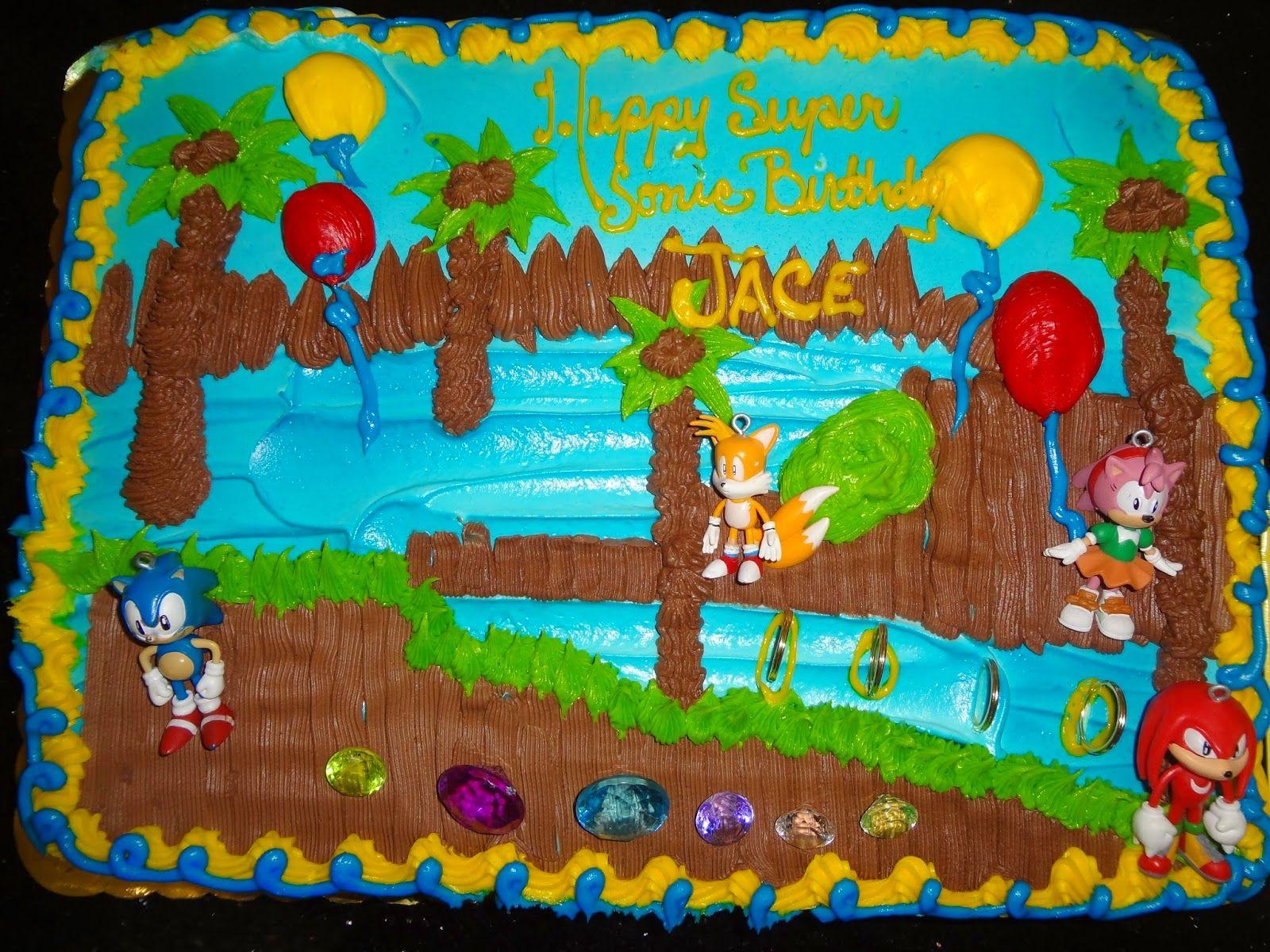 Jaces sonic birthday bash sonic birthday sonic