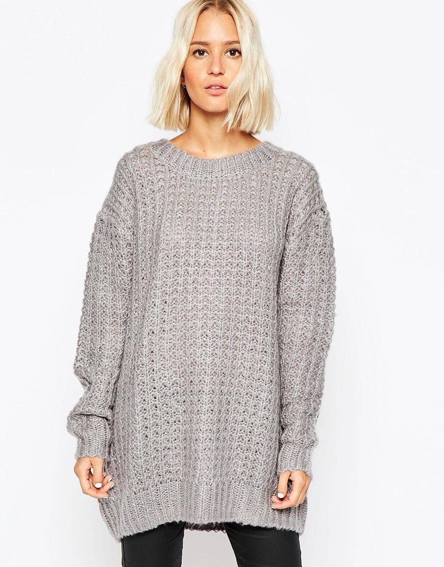 149de073241919 Pilkas megztinis | Cheap Monday - ASOS.com | ShopSpy.lt | Casual ...