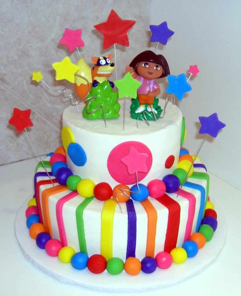 Dora the explorer cakes Cakes Cakes more Cakes Pinterest