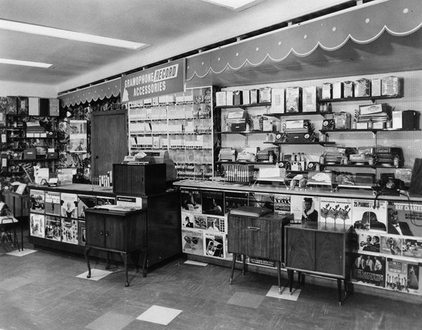 What Record Stores Looked Like In The 1960s My Childhood