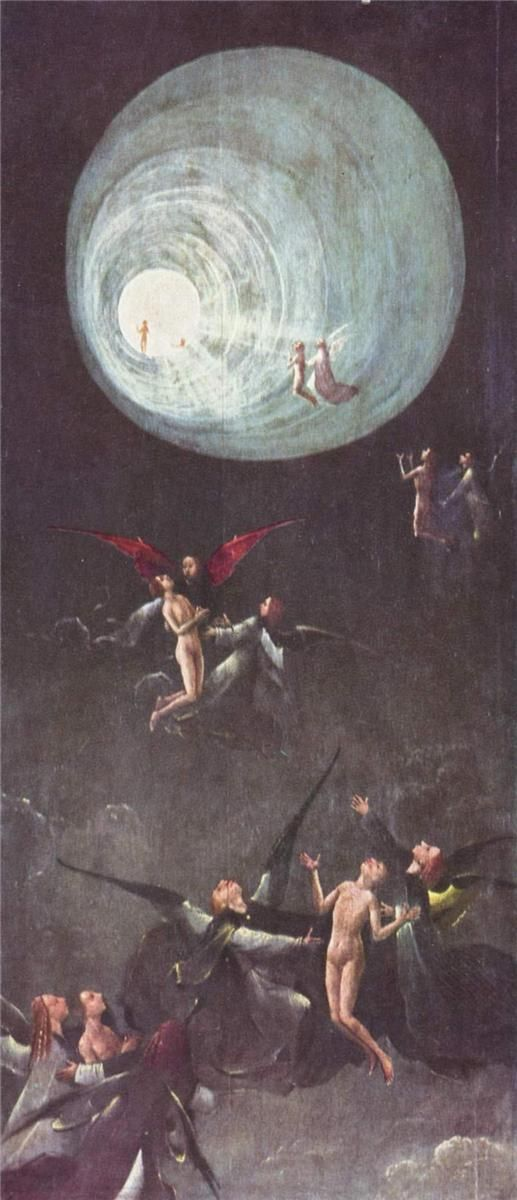 Ascent of the Blessed, 1500-1504Hieronymus Bosch