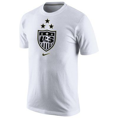 US Women's Soccer Team Nike 2015 World Champions 3-Star Crest Dri-Blend T