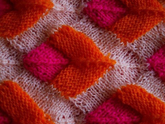 Modular knitting | Tejido, Dos agujas y Puntos