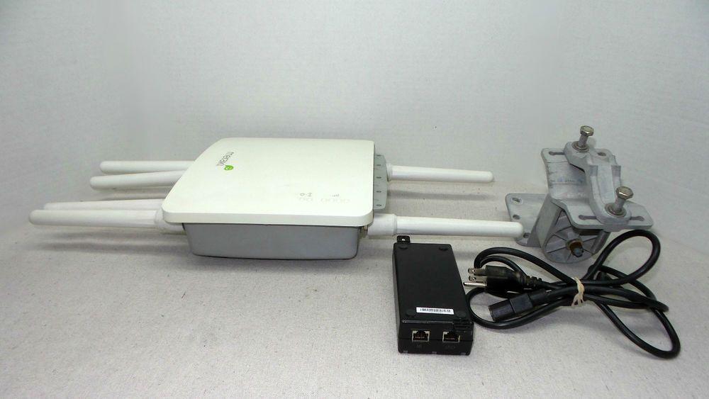 Meraki MR58 Multi Radio Access Point w/ 6 Antennas, PoE Injector