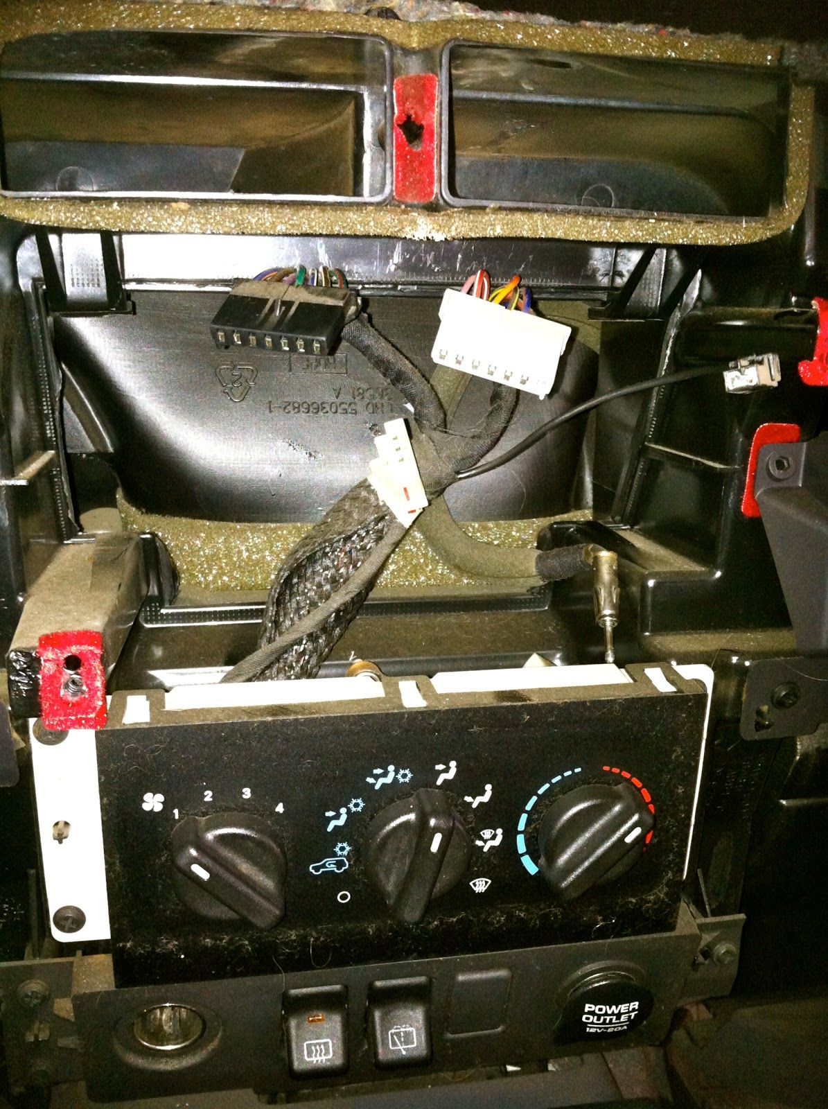 1997 2001 Jeep Cherokee Double Din Car Stereo Install Jeremy Travis Vasquez Car Stereo Installation Double Din Car Stereo Jeep