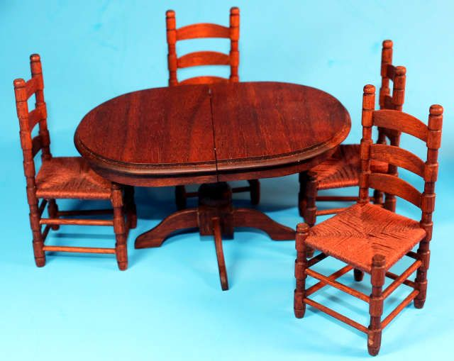 Mel S Miniatures Canadian Artist Dining Room Set Including