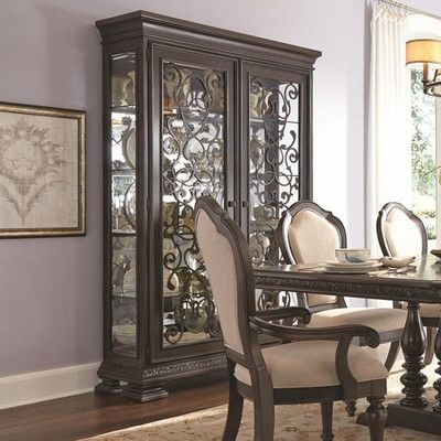 Room · Samuel Lawrence Monarch China Cabinet U0026 Reviews ...