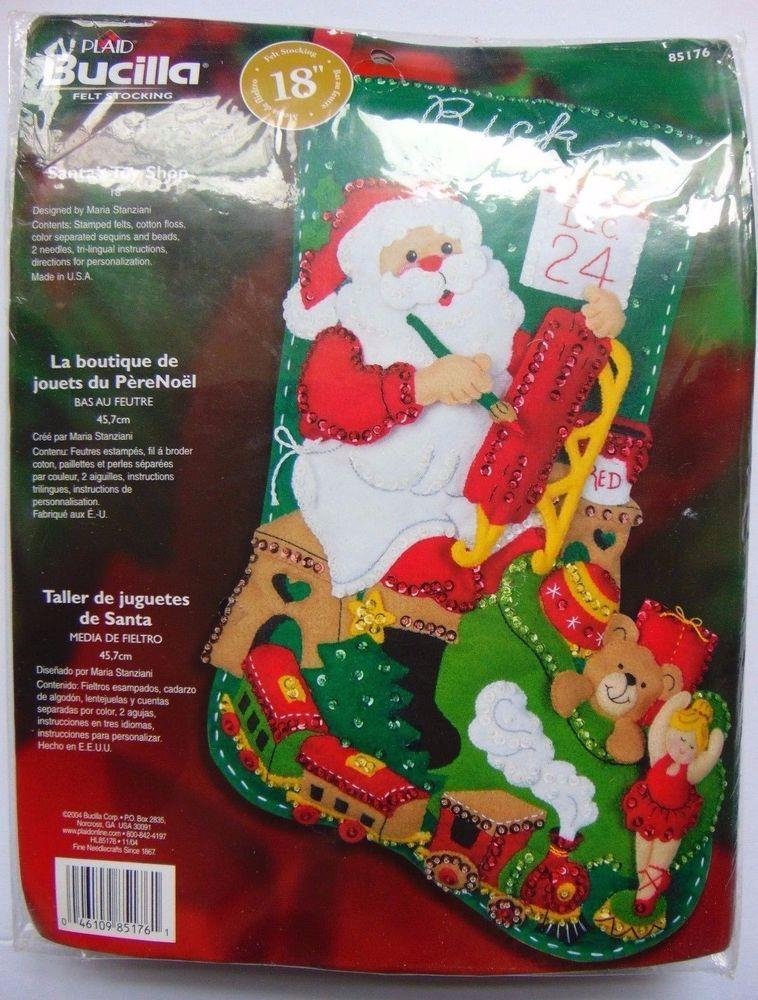 Bucilla Santa\'s Juguetería Fieltro 18\