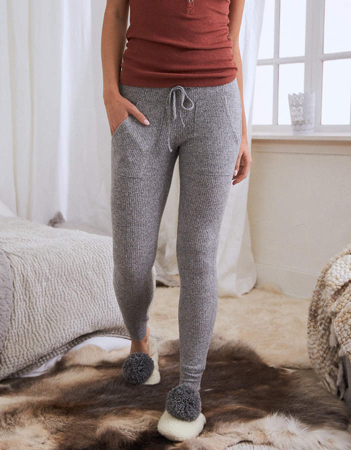 26da670a136088 aerie Ribbed Sleep Legging | Products | Fashion, Spring fashion ...
