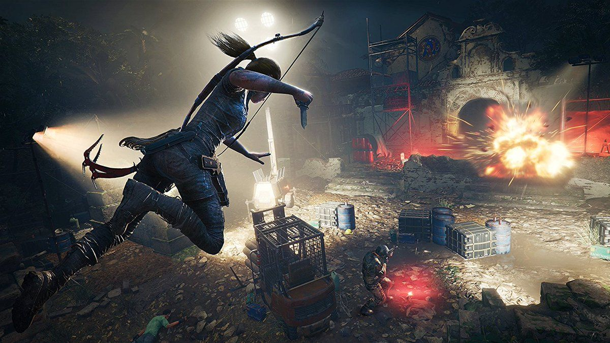 Shadow Of The Tomb Raider Will Tailor The Difficulty To Your Personal Playstyle Tomb Raider Wallpaper Tomb Raider Game Tomb Raider Shadow of tomb raider video game