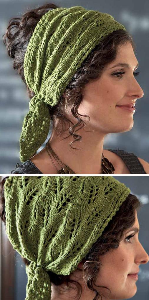 Kerchief Knitting Patterns | crochet & knitting | Pinterest | Mütze ...