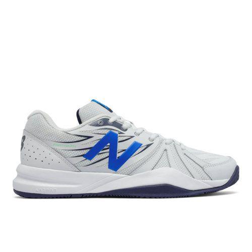 New Balance 786v2 Men's Tennis Shoes - Grey/Blue (MC786GB2)
