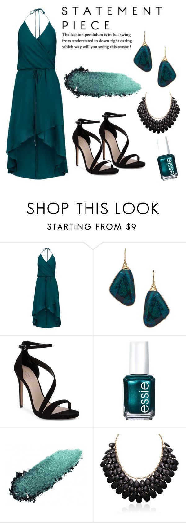 """Hera"" by nsrogsy3 ❤ liked on Polyvore featuring Haute Hippie, Janna Conner Designs, Carvela, Essie and Chantecaille"