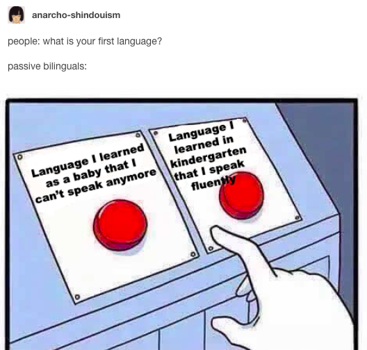 21 Jokes You Ll Only Laugh At If English Isn T Your First Language Funny Tumblr Posts Bilingual Humor Laughing So Hard