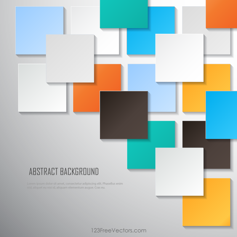 Colorful Square Blank Background Vector Image Blank Background