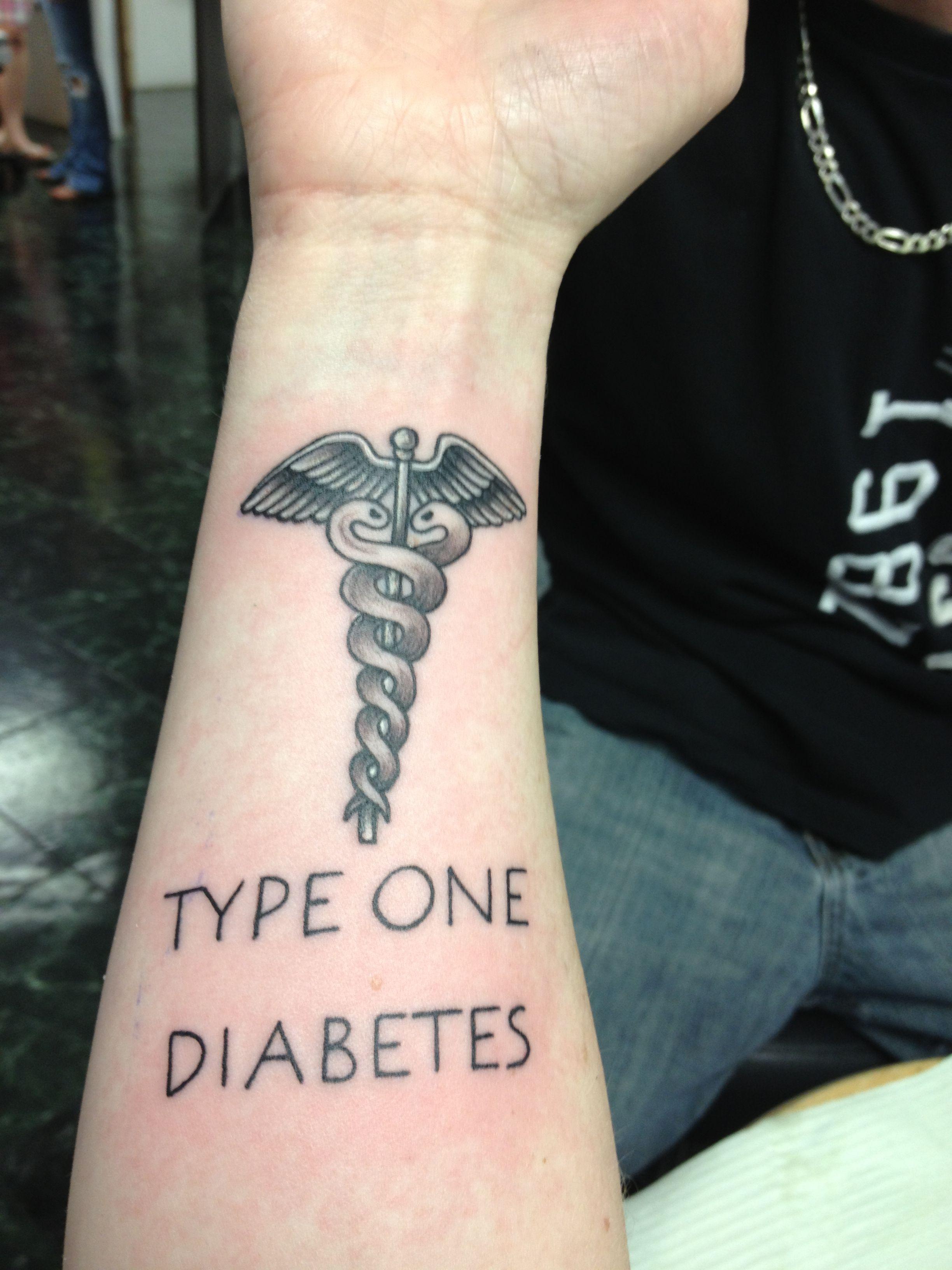 Medical alert tattoo i got i love it medical alert
