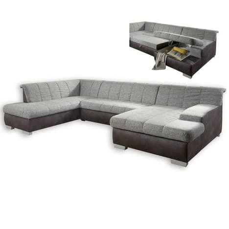 Wohnlandschaft Mit Federkern Gunstige Sofas Sofa Design Sofa Mit Bettfunktion