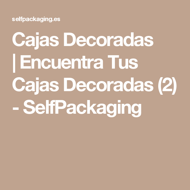 Cajas Decoradas  e4ccf77e4ed