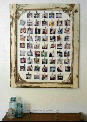 Clothespin Photo Display Diy Photo Display Instagram Photos Display Diy Frame