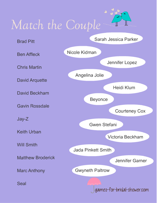 What is your celebrity couple name
