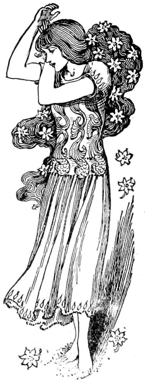 Helen Stratton Public Domain Mermaid Illustration Fairytale Illustration The Little Mermaid