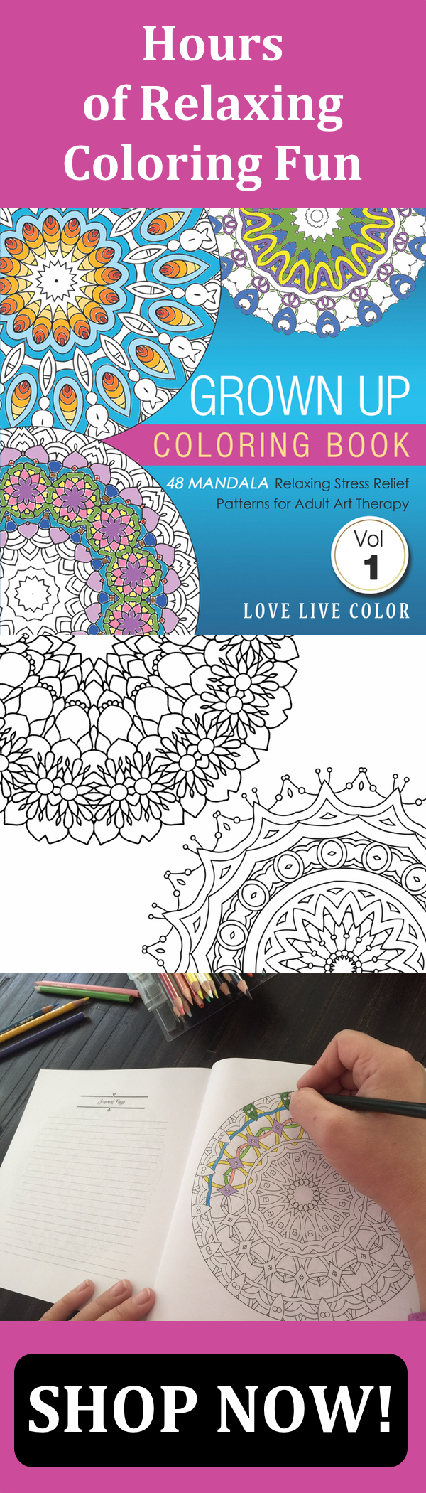 Stress relief coloring books disney - Disney Grown Up Coloring Book Do You Suffer From Stress Anxiety Or Creative Block This