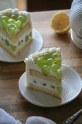 Виноградный муссовый торт Идеи для блюд, Десерты, Торт